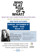CE.01 – Who is at risk of what? What we can learn from register data about patients with ADHD and their outcomes