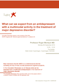 IN.02 – Vortioxetine: a multimodal antidepressant for the treatment of major depressive disorder